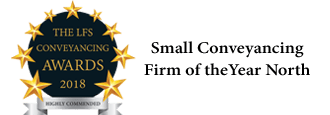 The LFS Conveyancing Awards 2018 Small Conveyancing Firm of the year North Logo