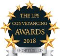 The LFS Conveyancing Awards 2018 Shortlisted Logo